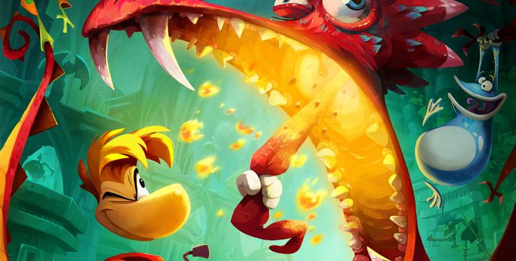 Rayman Legends (Wii U) - sticky