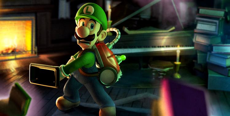 Luigi's Mansion 2 (3DS) - sticky