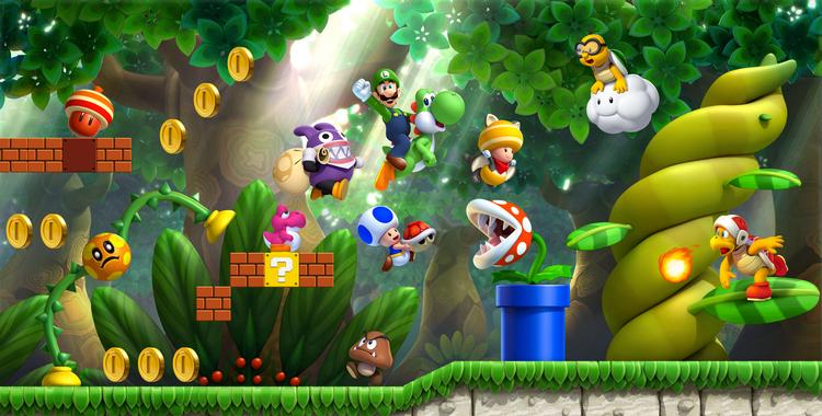 New Super Luigi U (Wii U) - sticky
