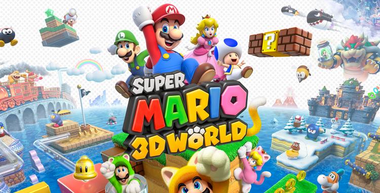 Super Mario 3D World (Wii U) - sticky