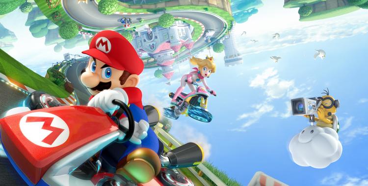 Mario Kart 8 (Wii U) - sticky