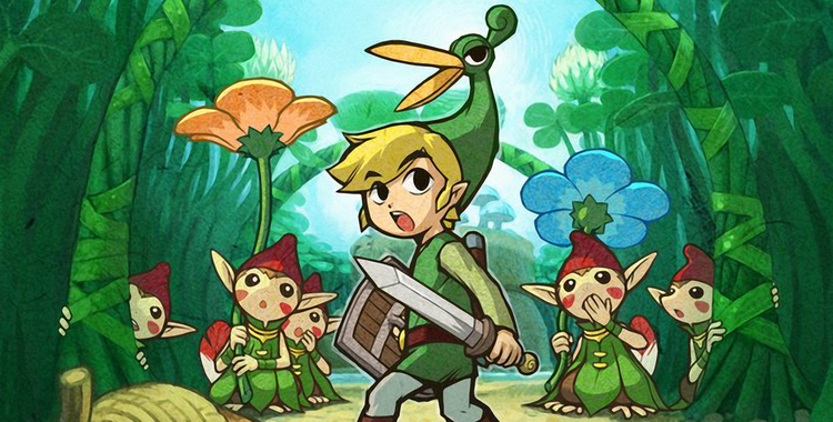 The Legend of Zelda The Minish Cap (GBA) - sticky