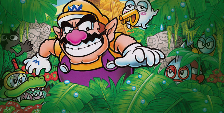 Wario Land 4 (GBA) - sticky