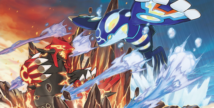 Pokémon Rubis Oméga et Saphir Alpha (3DS) - sticky