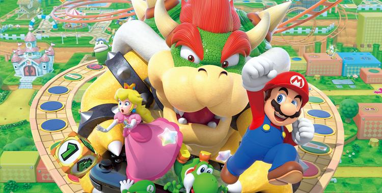 Mario Party 10 (Wii U) - sticky