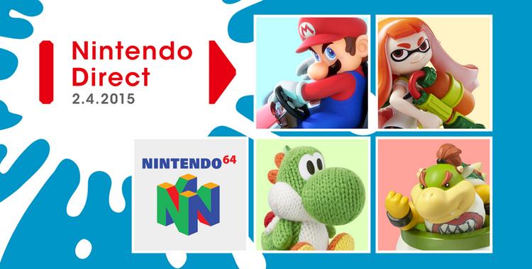 Nintendo Direct 2015-04-02