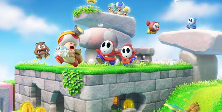 Captain Toad (Wii U) - sticky