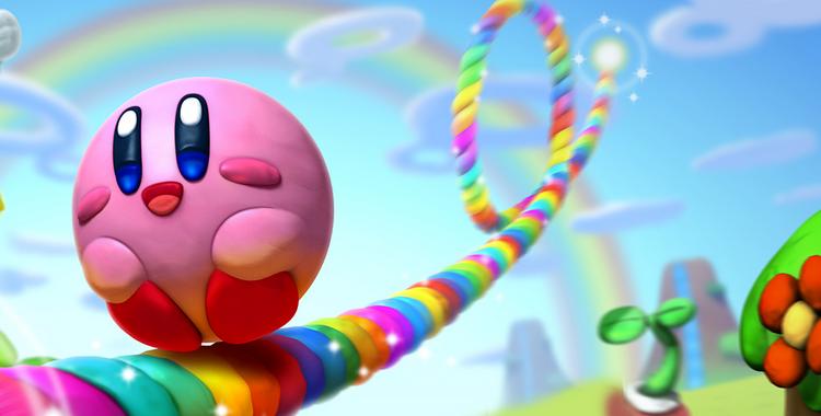 Kirby et le pinceau arc-en-ciel (Wii U) - sticky