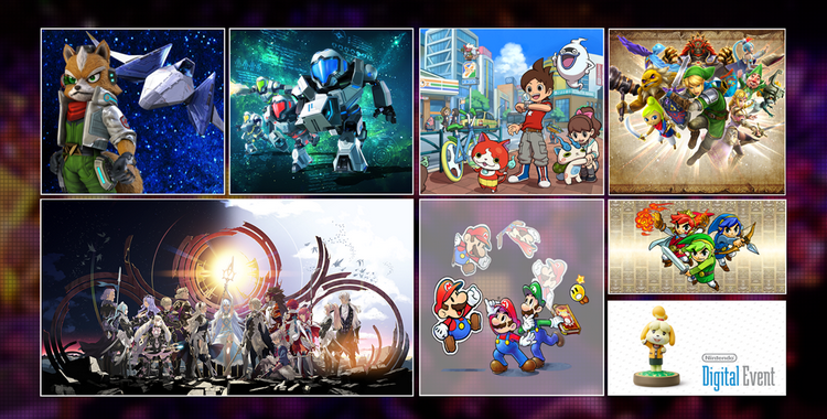 Nintendo Digital Event 2015 - sticky