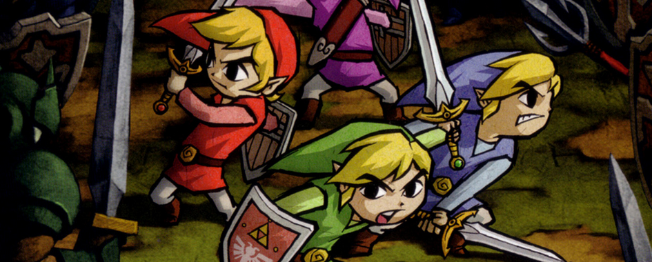 The Legend of Zelda Four Swords Adventures (GCN)
