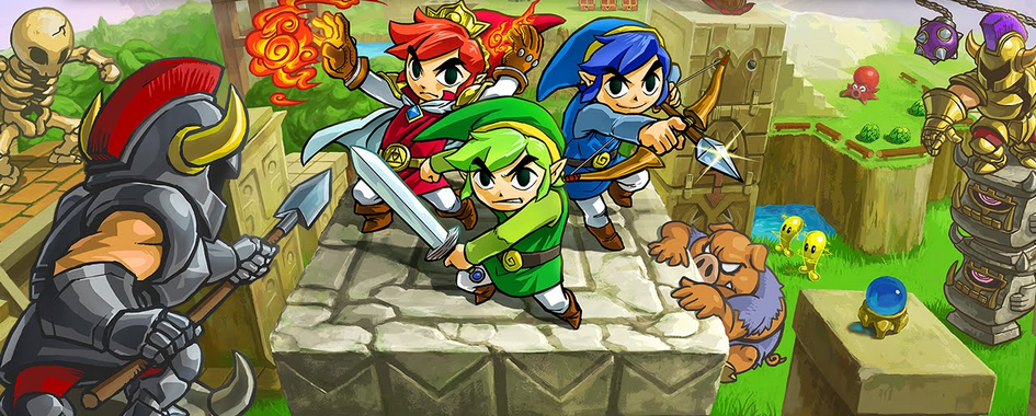 The Legend of Zelda Tri Force Heroes (3DS)